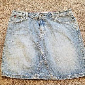 Tommy Hilfiger Denim Jean Mini Skirt